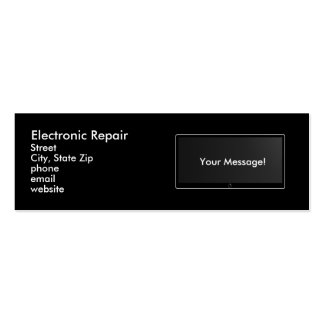 Electronic Repair Pack Of Skinny Business Cards