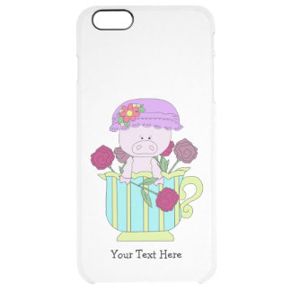 Electronic Template Vertical Clear iPhone 6 Plus Case
