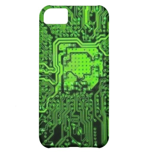 Electronic texture iPhone 5C covers