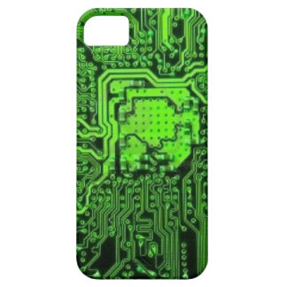 Electronic texture iPhone 5 cover