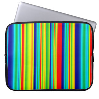 Electronics Bag- Bright Stripes Computer Sleeves