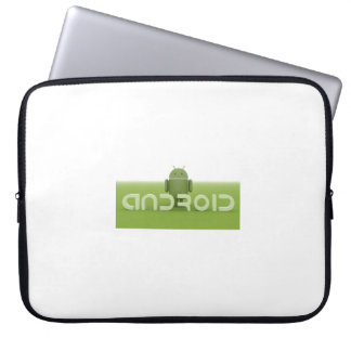 Electronics Bag with Android Logo Computer Sleeves