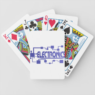 Electronics Bicycle Playing Cards