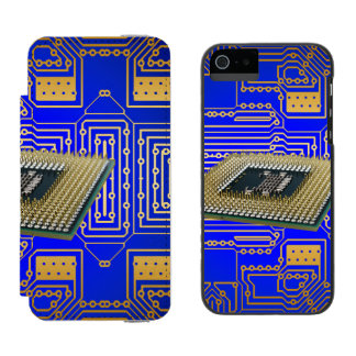 Electronics Circuit Board Incipio Watson™ iPhone 5 Wallet Case