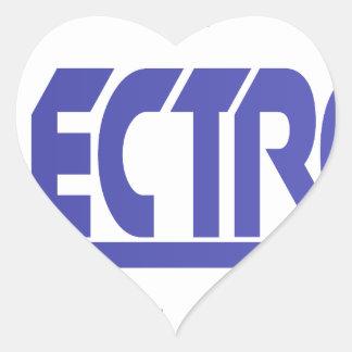Electronics Heart Sticker