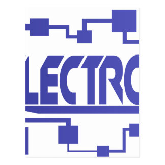 Electronics Postcard