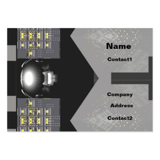 ElectroTech - Chubby Business Card Templates