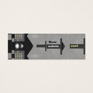 ElectroTech - Skinny Mini Business Card