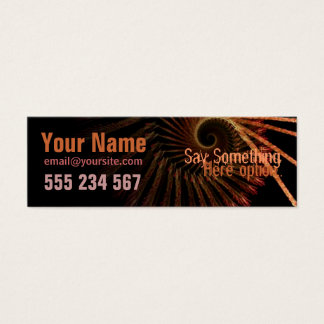 electrozArt #003 Profile Business Card