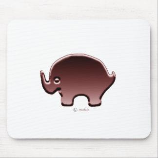 Elefante magenta mousepads