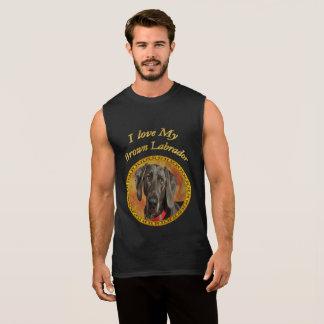 Elegan brown labrador canine puppy dog sleeveless shirt