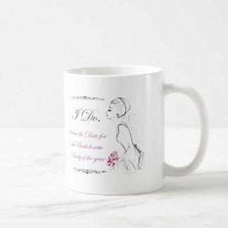 Elegance_bachelorette party coffee mug