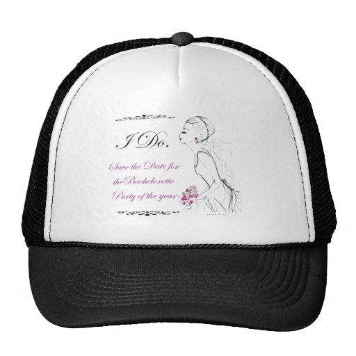 Elegance_bachelorette party hat