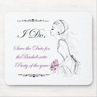 Elegance_bachelorette party mouse mats