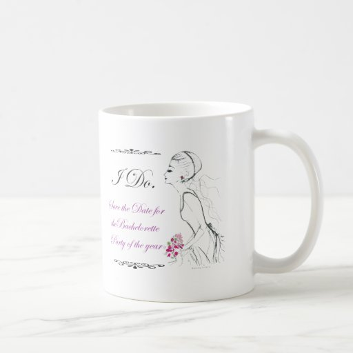Elegance_bachelorette party coffee mugs