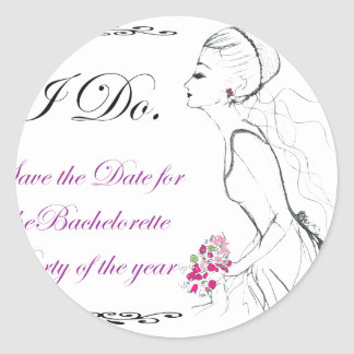 Elegance_bachelorette party stickers
