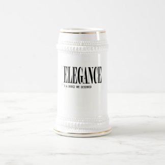 Elegance Beer Steins