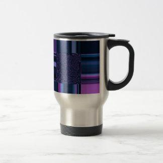 elegance blue coffee mug