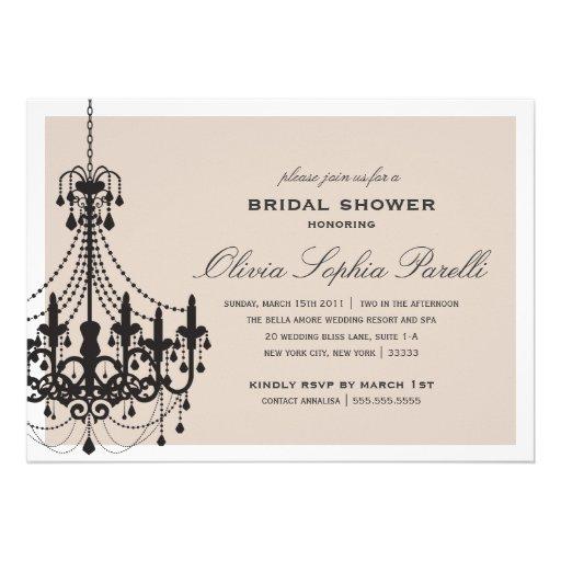 ELEGANCE | BRIDAL SHOWER INVITATION