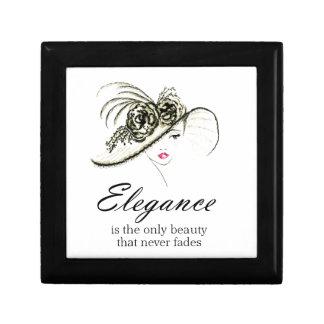 Elegance Fashion Quote Gift Box