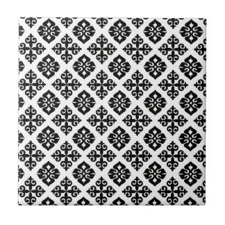 Elegance in Black & White Tile