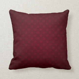 Elegance in Burgundy Cushion