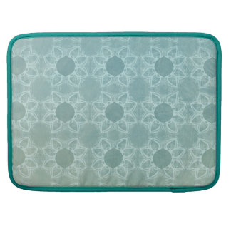 Elegance in Teal Sleeve For MacBook Pro