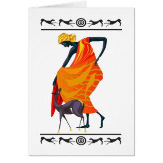 Elegance Kwanzaa Holiday Greeting Cards