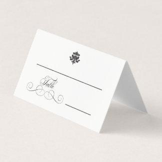 Elegance   Wedding Folded Place Cards