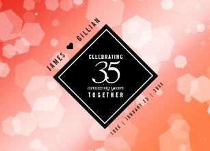 35th Wedding Anniversary Gifts Zazzle Com Au