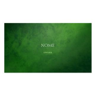Elegant 3 Green Pack Of Standard Business Cards