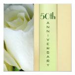 Elegant 50th Anniversary Invitation