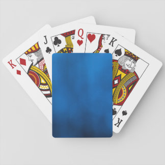 Elegant Abstract Blue Playing Cards