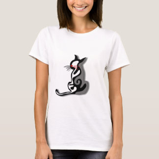 Elegant abstract cat T-Shirt