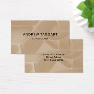 elegant abstract shapes business card