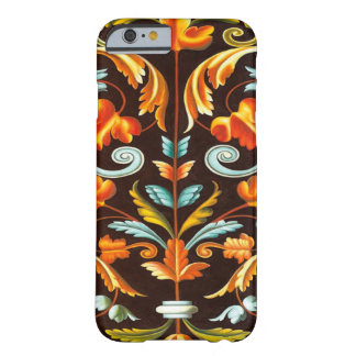 elegant abstract swirls fall home decor fall barely there iPhone 6 case