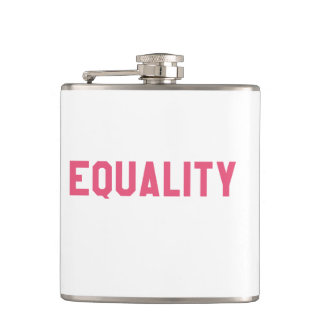 Elegant and Beautiful Typography || EQUALITY Hip Flask