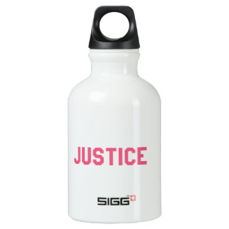 Elegant and Beautiful Typography || Justice SIGG Traveller 0.3L Water Bottle