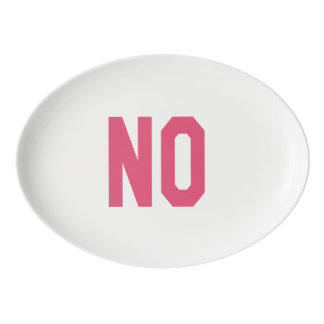 Elegant and Beautiful Typography || NO Porcelain Serving Platter