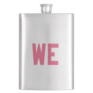 Elegant and Beautiful Typography || WE Hip Flask