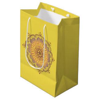 Elegant and Colourful Mandala Medium Favour Bag
