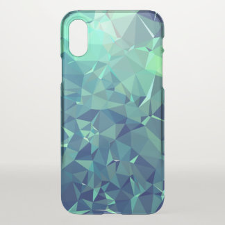 Elegant and Modern Geo Art - Magnificent Glacier iPhone X Case