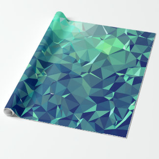 Elegant and Modern Geo Art - Magnificent Glacier Wrapping Paper