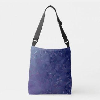 Elegant and Modern Geo Designs - Dragon Cobalt Crossbody Bag