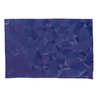 Elegant and Modern Geo Designs - Dragon Cobalt Pillowcase