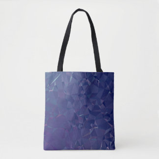 Elegant and Modern Geo Designs - Dragon Cobalt Tote Bag