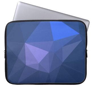 Elegant and Modern Geo Designs - Flying Dolphin Laptop Sleeve