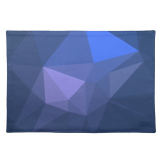 Elegant and Modern Geo Designs - Flying Dolphin Placemat