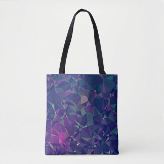 Elegant and Modern Geo Designs - Pink Periwinkle Tote Bag