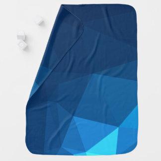 Elegant and Modern Geo Designs - Tundra Pyramid Baby Blanket